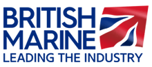 The British Marine logo.